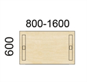 Contur Rektangulära bord 60