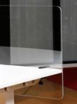 Bordsskärm Plexi Bordsskärm transparent plexi