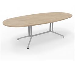 X2 Konferensbord X2 ovalt mötesbord 240 cm