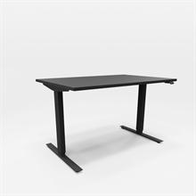 Höj & Sänkbart skrivbord Svart höj & sänkbart skrivbord, Svart stativ