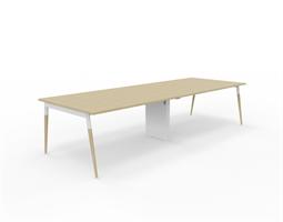 X3 Konferensbord X3 bord med ekben 320x120 cm