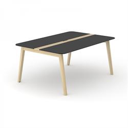 Wood konferensbord Wood mötesbord i trä 160x140 cm