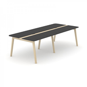 Wood konferensbord Wood mötesbord i trä 280x120 cm