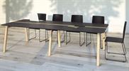 Bild 5 Wood mötesbord i trä 160x140 cm