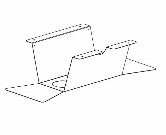 Bild Kabeldike 290 för konferensbord