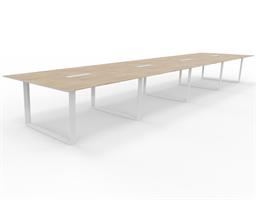 X7 Konferensbord X7 mötesbord 640x140 cm