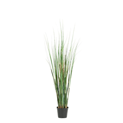 Konstgjorda växter Gräs i kruka