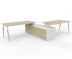 X3 Skrivbord X3 skrivbord för kontorslandskap