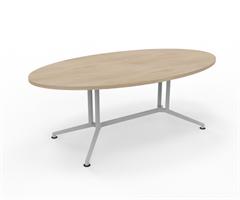 X2 Konferensbord X2 ovalt mötesbord 200 cm