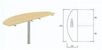 Bild Sidobord utan bordsskärm