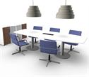 Fyndhörnan Paket: Konferensbord + 6 stolar