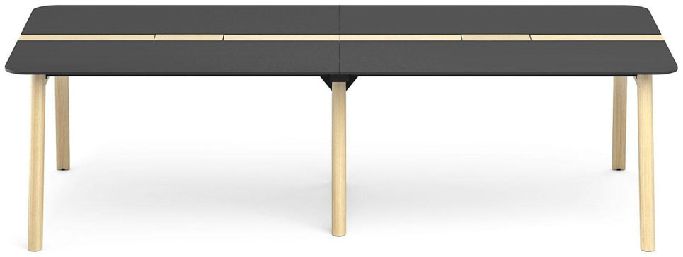 Wood konferensbord