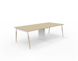 X3 Konferensbord X3 bord med ekben 240x120 cm