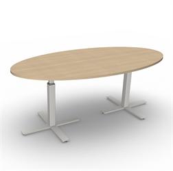 Höj och sänkbart konferensbord 200x104 cm