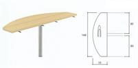 Bild Sidobord för bordsskärm