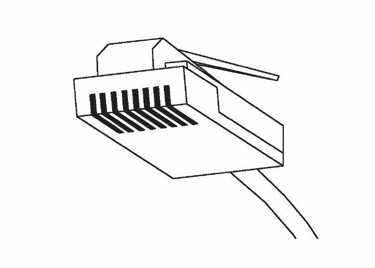 Bild Nätverkskabel STP Cat.6 skärmad