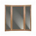 Övriga vägglösningar 3-delad spegel med dörrar