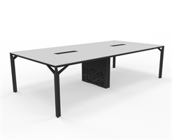 X8 Konferensbord X8 mötesbord längd 280-320 cm, Djup 140 cm