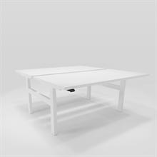 Höj & Sänkbart skrivbord Höj & sänkbart arbetsbord Duo
