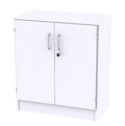 Reflect White Förvaring 2xA4, Med dörrar