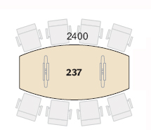 Connect Konferensbord Bord 237