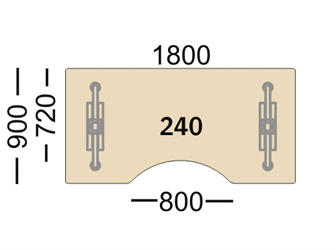 Connect Connect bord 240/241
