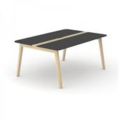 Wood konferensbord Wood mötesbord i trä 160x120 cm