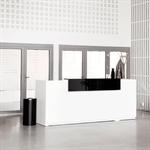 Basic Receptionsdisk Basic Sitt&Stå Längd 260 cm