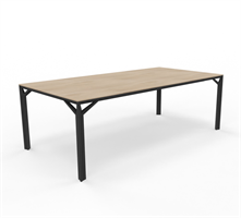 X8 Konferensbord X8 Mötesbord längd 180-240 cm, djup 100-110 cm