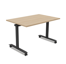 Fällbara bord på hjul Volym fällbart bord med hjul