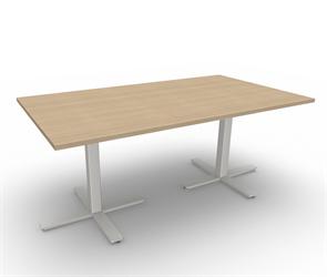 Höj och sänkbart konferensbord 180x100 cm