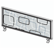 Bild Bordsskärm mönstrad H52
