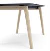 Bild 2 Wood mötesbord i trä 160x140 cm