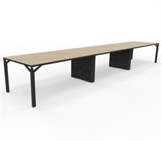X8 Konferensbord X8 Mötesbord längd 540-720 cm, djup 100-110 cm