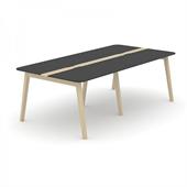 Wood konferensbord Wood mötesbord i trä 240x120 cm