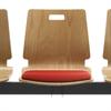 Bild Klädd sittdyna för Wood