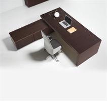 Deck  Deck med sidobord och lådor