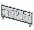 Bild Bordsskärm mönstrad H39
