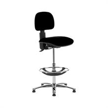 Kontorsstolar Hög arbetsstol med fotring