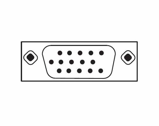 Bild VGA kabel RGB (Analog bild)