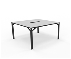 X8 Konferensbord X8 mötesbord längd 140-160 cm, Djup 140 cm