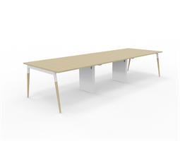 X3 Konferensbord X3 bord med ekben 360x120 cm