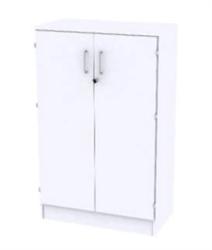 Reflect White Förvaring 3xA4, Med dörrar