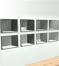 Kundanpassade Inbyggda glasmontrar
